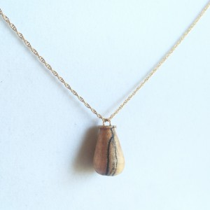 Pendulum Pendant – Spalted Maple