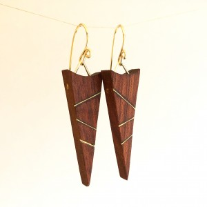 Van B's – Mahogany with Gold Inlay