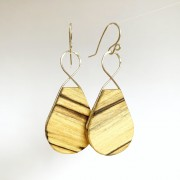 12:12 HOURGLASS SPALTED SILVER