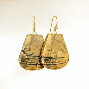 Fin – Spalted Maple