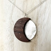 12:12 MOON AND STARTS PENDANT